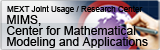 Center for Mathematical Modeling and Applications(CMMA), Meiji Institute (MIMS)